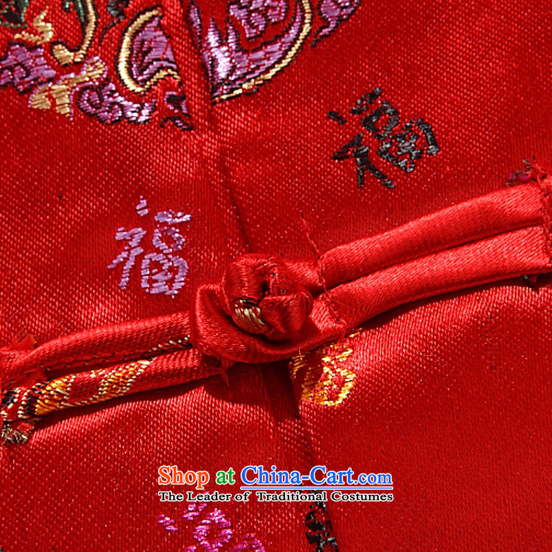Beijing OSCE autumn and winter, Tang dynasty men's long-sleeved father in older couples jacket men red women 175 Beijing (JOE OOH) , , , shopping on the Internet