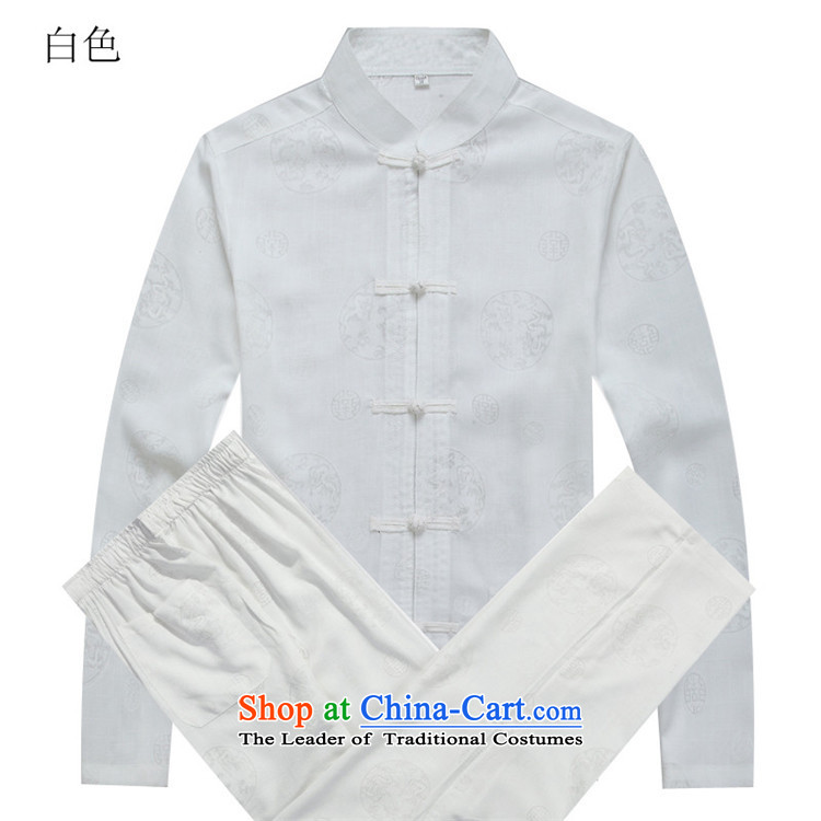 Beijing New Europe China wind autumn men Tang Dynasty Package white kit聽S picture, prices, brand platters! The elections are supplied in the national character of distribution, so action, buy now enjoy more preferential! As soon as possible.