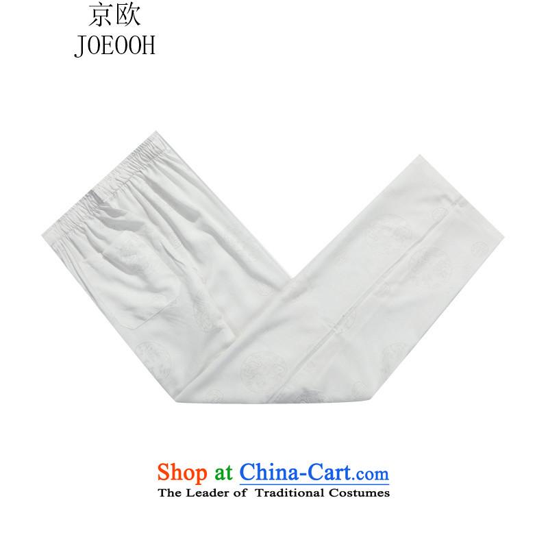 Beijing New Europe China wind autumn men Tang Dynasty Package white kit聽S, Putin (JOE OOH) , , , shopping on the Internet