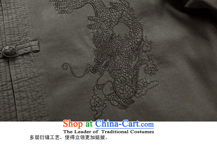 Beijing OSCE Tang dynasty men l replacing men Tang Dynasty Large jacket, gray and green聽M picture, prices, brand platters! The elections are supplied in the national character of distribution, so action, buy now enjoy more preferential! As soon as possible.