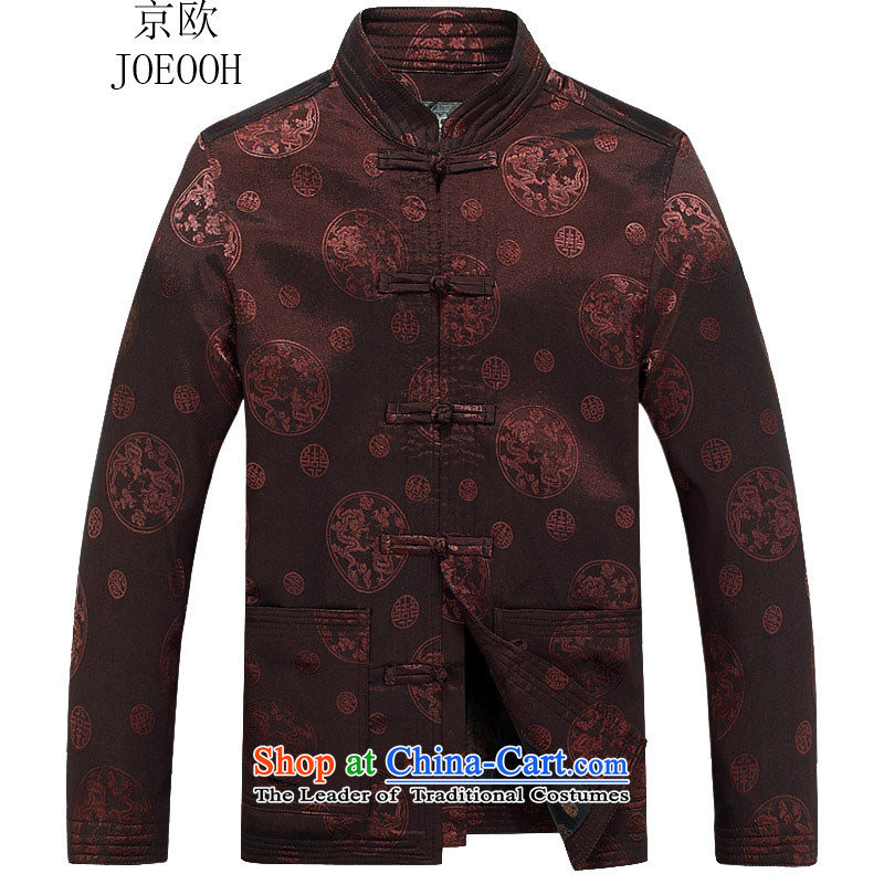 Beijing OSCE autumn and winter jackets in the consultations on the Older Su-nam Tang dynasty coffee-colored燲XL_185