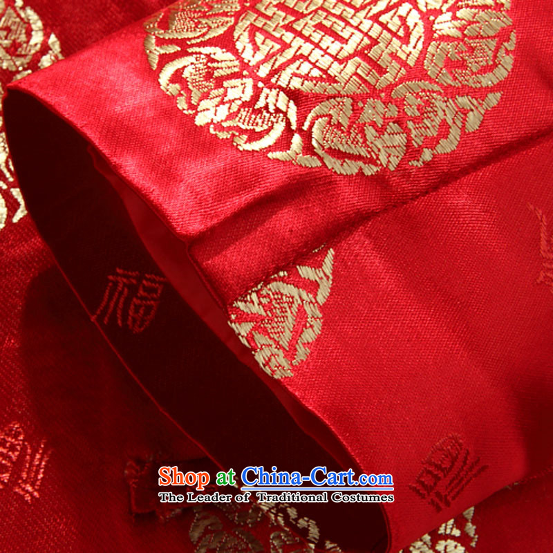 Beijing 2015 OSCE New Men Tang jackets for couples, long-sleeved Tang dynasty China wind collar in the number of older women, Tang blouses red men 185, Beijing (JOE OOH) , , , shopping on the Internet