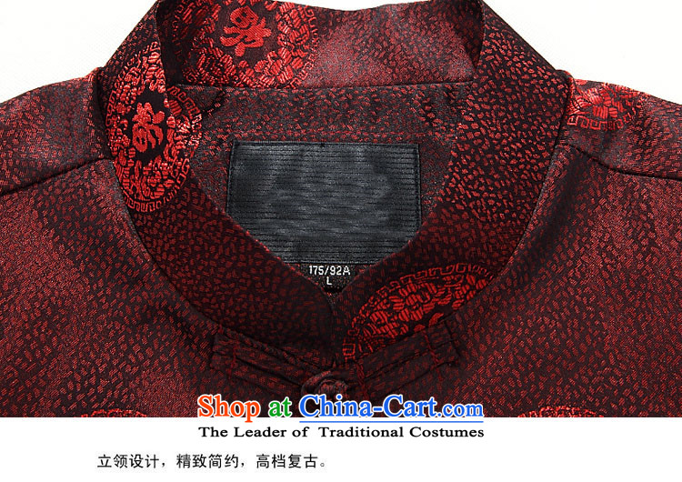 Beijing OSCE Tang Dynasty Package 2015 Autumn, China wind men long-sleeved kit for couples, Tang JACKET STYLE Tang Service Kit Red Women Men 190 pictures, prices, brand platters! The elections are supplied in the national character of distribution, so action, buy now enjoy more preferential! As soon as possible.