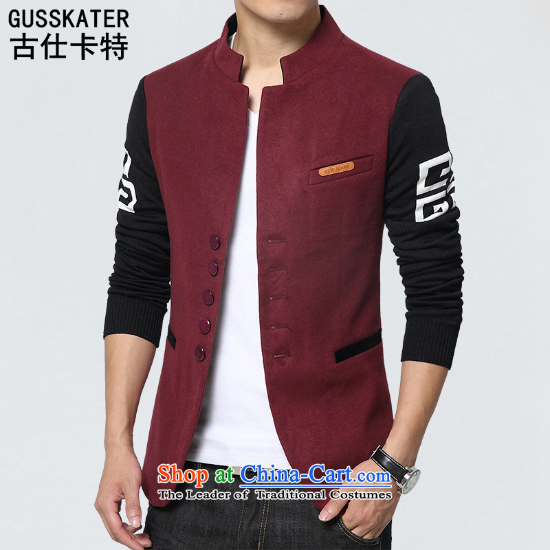 Mrs Rafael Hui聽2015 Autumn Chinese tunic stylish Carter leisure suit Male China Wind Jacket Tang 1015 gray聽3XL, coca-See Carter , , , shopping on the Internet