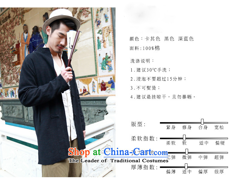 New products of traditional Chinese HUNNZ wind linen men Tang Dynasty Chinese long-sleeved sweater disc detained men cotton linen dress blue 170 pictures, prices, brand platters! The elections are supplied in the national character of distribution, so action, buy now enjoy more preferential! As soon as possible.