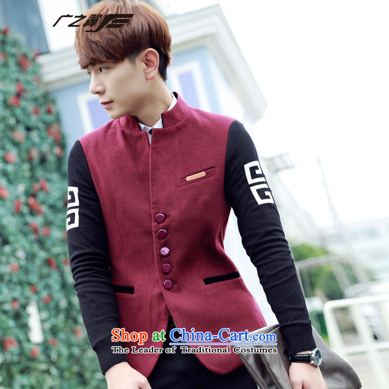 Wide Wing Men , stylish and cozy Chinese tunic men cotton coat small gray suit聽XXL, Wide Wing , , , shopping on the Internet