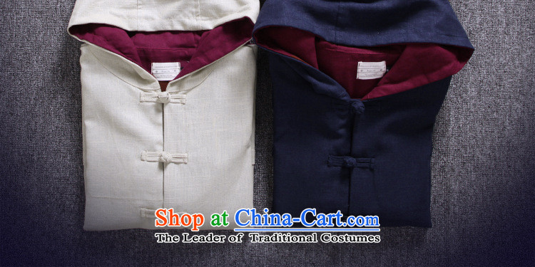 Dan Jie Shi聽2015 Spring and Autumn Chinese boxed men Tang dynasty China wind up the CLIP HOODIE retro national wind jacket male and Peacock Blue聽M picture, prices, brand platters! The elections are supplied in the national character of distribution, so action, buy now enjoy more preferential! As soon as possible.