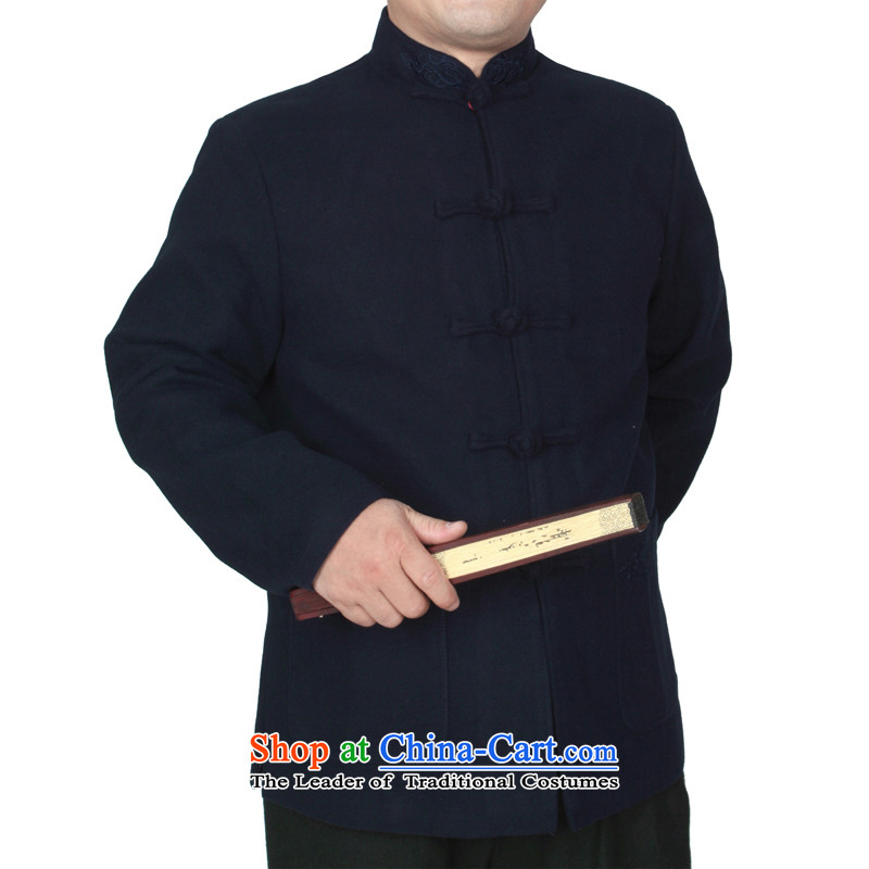 The Cave of the elderly 15 autumn and winter new upscale embroidery Chinese men in older thick hair? Tang jackets Y769 blue聽, 190 yards to the Cave of the elderly聽has been pressed shopping on the Internet