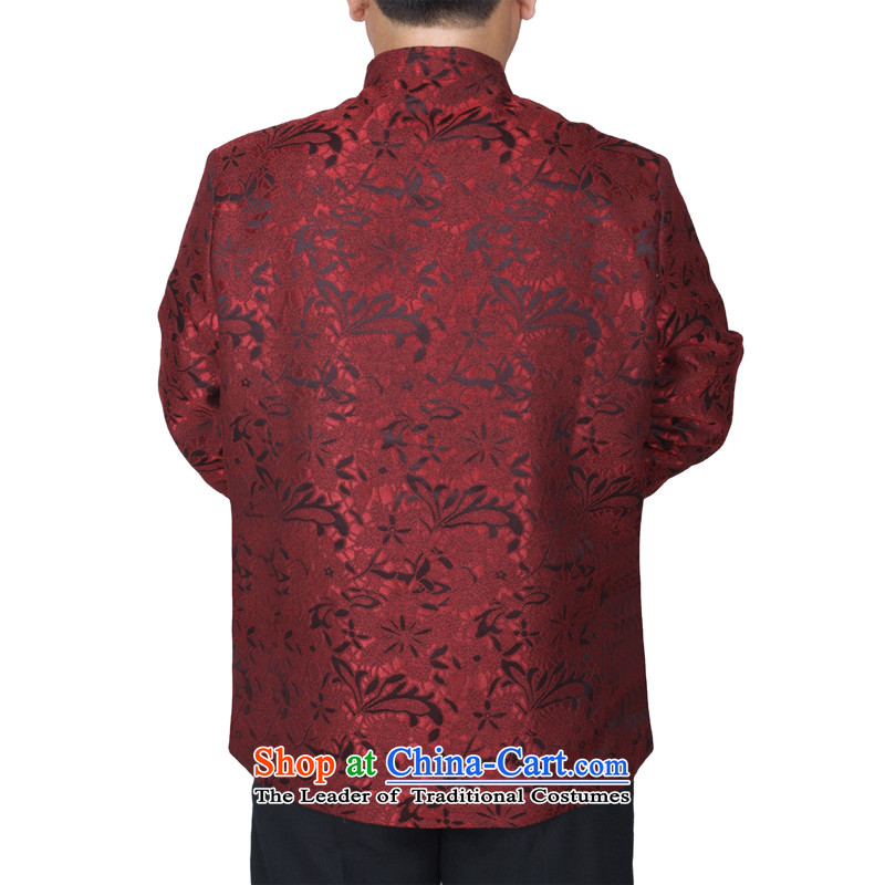 The Cave of the elderly by 2015 New Red Tang dynasty in the Spring and Autumn Period and the elderly men and a long-sleeved over the life jackets birthday Y881 Red聽175 yards, the Cave of the elderly聽has been pressed shopping on the Internet