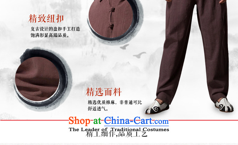 Renowned China wind lapel of long-sleeved T-shirt men Tang Dynasty Chinese male Han-han-disk-Sau San leisure clothes men's black XXXL picture, prices, brand platters! The elections are supplied in the national character of distribution, so action, buy now enjoy more preferential! As soon as possible.