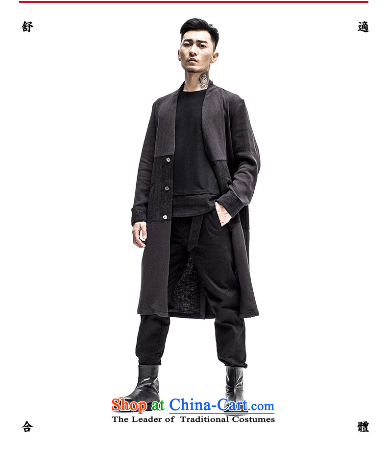 2015 Autumn tree to the new improved Tang dynasty men linen china wind shirt collar Chinese Tang jacket color聽pictures, 175/L Hyun price, brand platters! The elections are supplied in the national character of distribution, so action, buy now enjoy more preferential! As soon as possible.