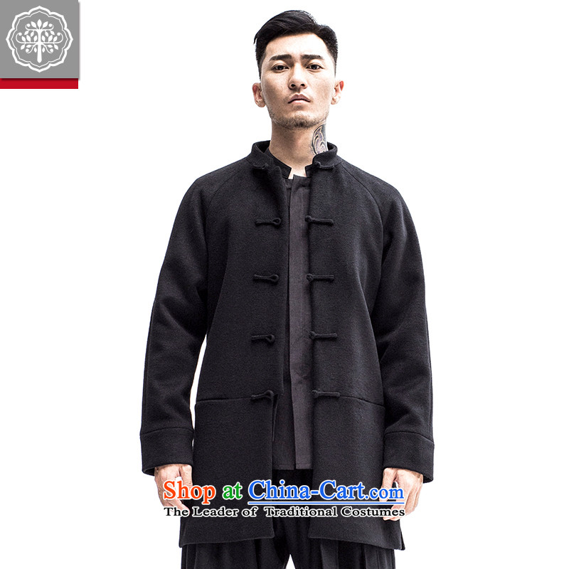 Intended for autumn and winter 2015 tree new men in Tang Long Tang dynasty improved Chinese men stitching Jacket Color聽165_S Hyun