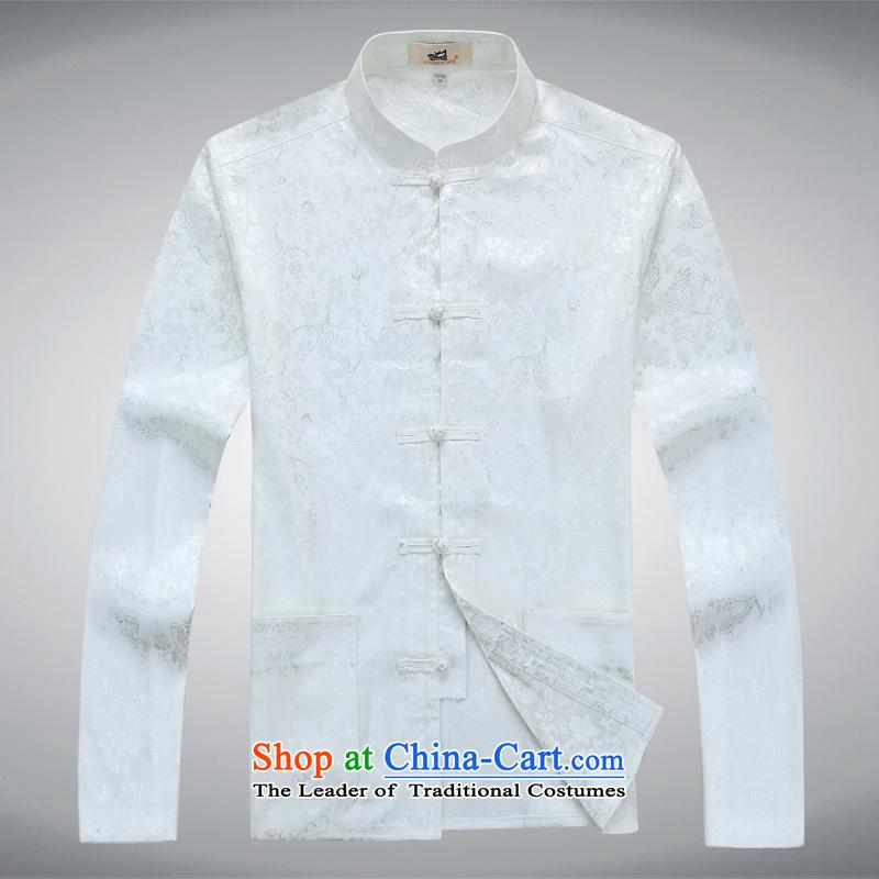 In elderly men dad aeroline boxed long-sleeved white聽XL,MEROPIA,,, two kits online shopping