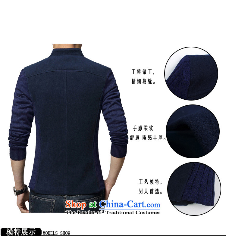 Wide Wing Men's Mock-Neck Chinese tunic youth with stylish casual jacket men fourth quarter applicable jacket gray聽XL Photo, prices, brand platters! The elections are supplied in the national character of distribution, so action, buy now enjoy more preferential! As soon as possible.