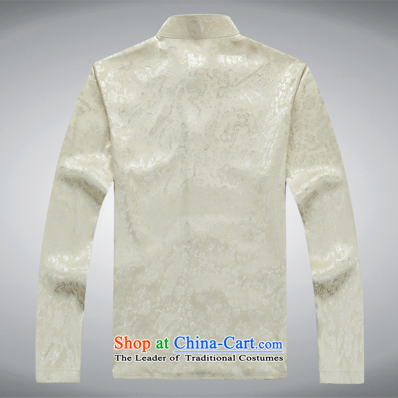 Mr Ma urban 2015 autumn and winter New Men Tang jacket male in Chinese tunic older dad long-sleeved replacing Tang dynasty herbs extract autumn leisure jacket Tsing Gray/Kit聽, M, Luo Princess (ROLMACITY urban shopping on the Internet has been pressed.)