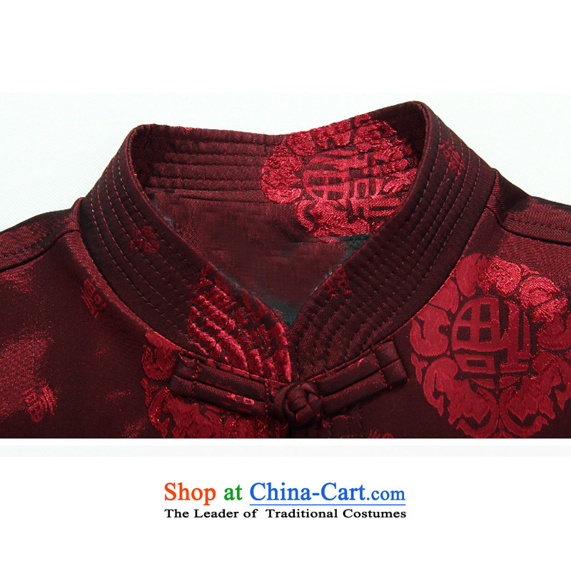 Mr Ma urban 2015 autumn and winter New Men Tang jacket male in Chinese tunic older dad long-sleeved replacing Tang dynasty herbs extract autumn leisure jacket聽, Marguerite City, red (ROLMACITY) , , , shopping on the Internet