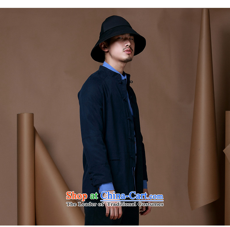 Hunnz men of Chinese tunic Neck Jacket trendy long-sleeved tray clip Chinese men China wind cotton linen and Tang dynasty white聽185 pictures, prices, brand platters! The elections are supplied in the national character of distribution, so action, buy now enjoy more preferential! As soon as possible.