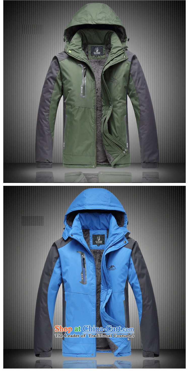 Orange Tysan *2014 new autumn and winter outdoor men men's emergency unit plus lint-free thick-yi fertilizer xl climbing5XL Blue Photo, prices, brand platters! The elections are supplied in the national character of distribution, so action, buy now enjoy more preferential! As soon as possible.