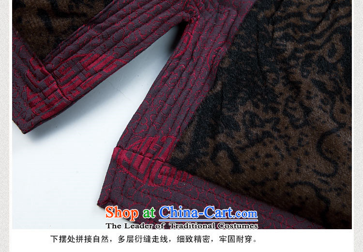 Hiv Rollet Men long-sleeved thick kit autumn and winter new products in Chinese tunic collar older Tang Dynasty Package red kit聽M picture, prices, brand platters! The elections are supplied in the national character of distribution, so action, buy now enjoy more preferential! As soon as possible.