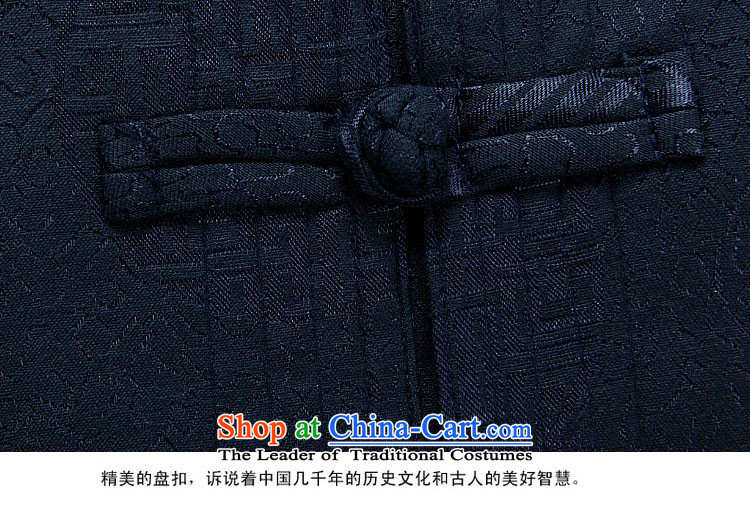 Hiv Rollet spring and autumn), Tang dynasty older men and packaged men Chinese thick jacket of older persons in long-sleeve sweater in Tang Dynasty Han-dark blue packaged聽XXL picture, prices, brand platters! The elections are supplied in the national character of distribution, so action, buy now enjoy more preferential! As soon as possible.