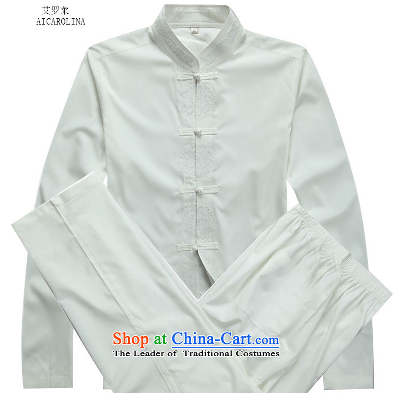 Hiv Rollet 2015 Fall_Winter Collections of new products in the Tang dynasty China wind Older long-sleeved white kit kit聽XL