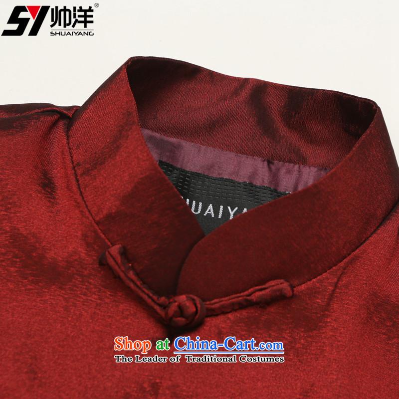 The new 2015 Yang Shuai China Wind Jacket Tang Men's Mock-Neck Chinese clothing national costumes black聽185 (Shuai SHUAIYANG) , , , shopping on the Internet