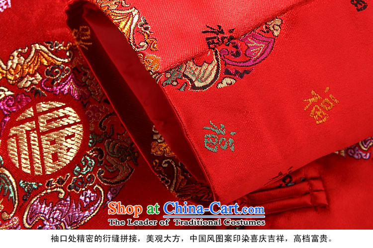 Hiv middle-aged men Rollet, Ms. Tang dynasty fashion lovers Tang jacket male version red聽185 pictures, prices, brand platters! The elections are supplied in the national character of distribution, so action, buy now enjoy more preferential! As soon as possible.
