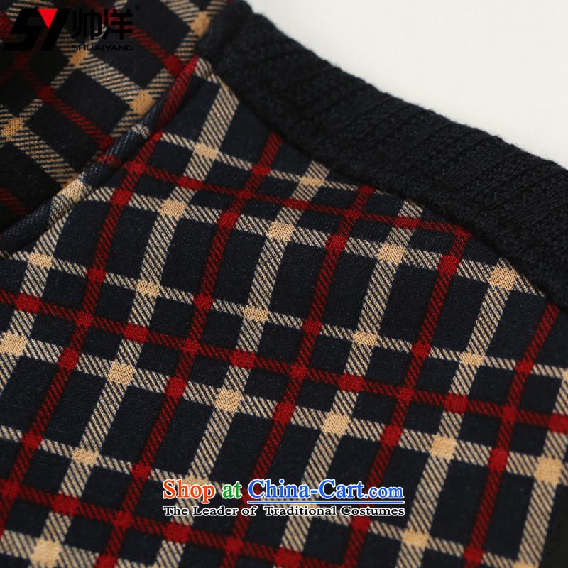 Shuai ocean autumn and winter new men, a Tang dynasty China wind youth Sau San onma folder at shoulder Chinese vest grid spend聽180, yang (Shuai SHUAIYANG) , , , shopping on the Internet