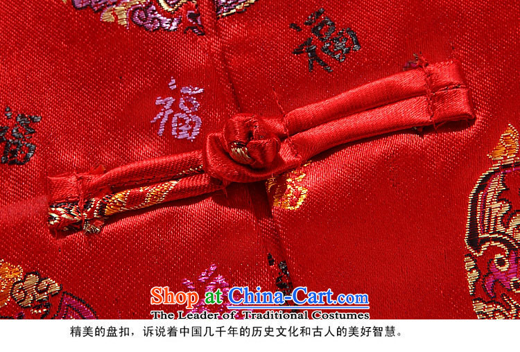Kanaguri mouse autumn and winter new Tang dynasty qingluzhong older Tang jackets men red women 175 pictures, prices, brand platters! The elections are supplied in the national character of distribution, so action, buy now enjoy more preferential! As soon as possible.