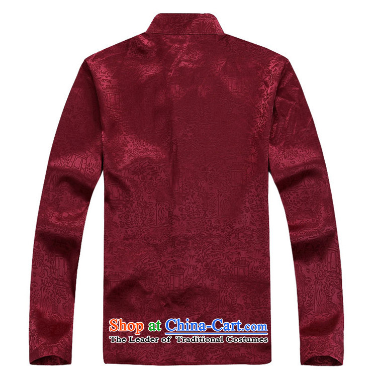 Kanaguri mouse fall of Chinese long-sleeved men of older men Tang blouses red kit聽S picture, prices, brand platters! The elections are supplied in the national character of distribution, so action, buy now enjoy more preferential! As soon as possible.