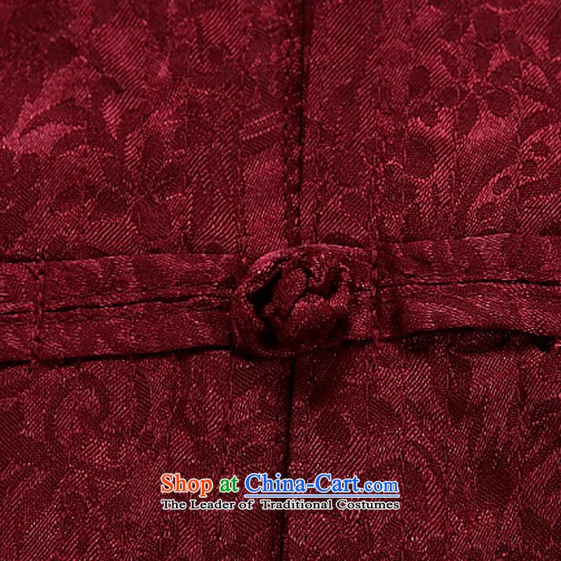 Kanaguri mouse fall of Chinese long-sleeved men of older men Tang blouses red kit聽S kanaguri mouse (JINLISHU) , , , shopping on the Internet