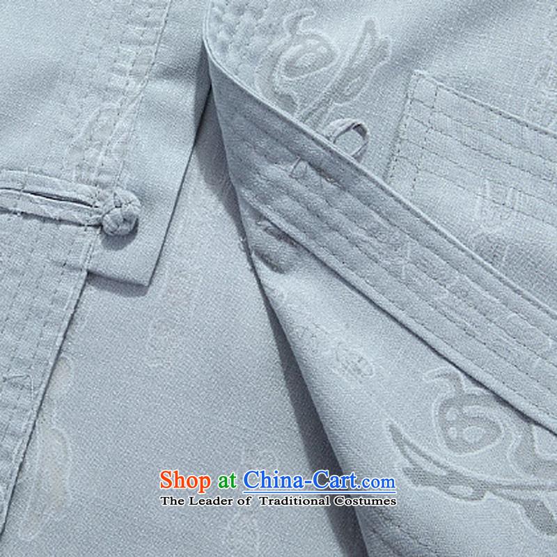 Kanaguri mouse autumn New Men long-sleeved Tang dynasty national costumes beige kit聽M kanaguri mouse (JINLISHU) , , , shopping on the Internet