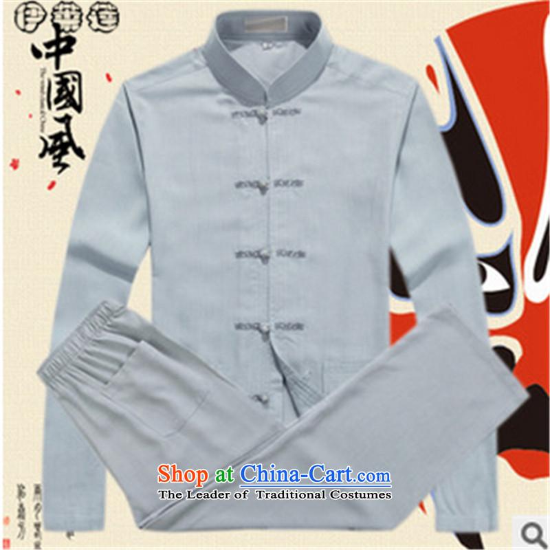 Hirlet Ephraim autumn 2015 New Tang dynasty men in long-sleeved shirt clip Chinese dress up older father jacket kit white聽185, Electrolux Ephraim ILELIN () , , , shopping on the Internet
