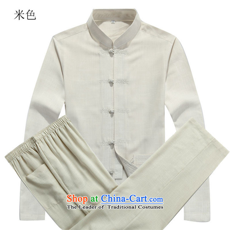 Kanaguri mouse autumn new Tang dynasty in older men long-sleeved Tang Dynasty Package beige kit聽XXXL picture, prices, brand platters! The elections are supplied in the national character of distribution, so action, buy now enjoy more preferential! As soon as possible.