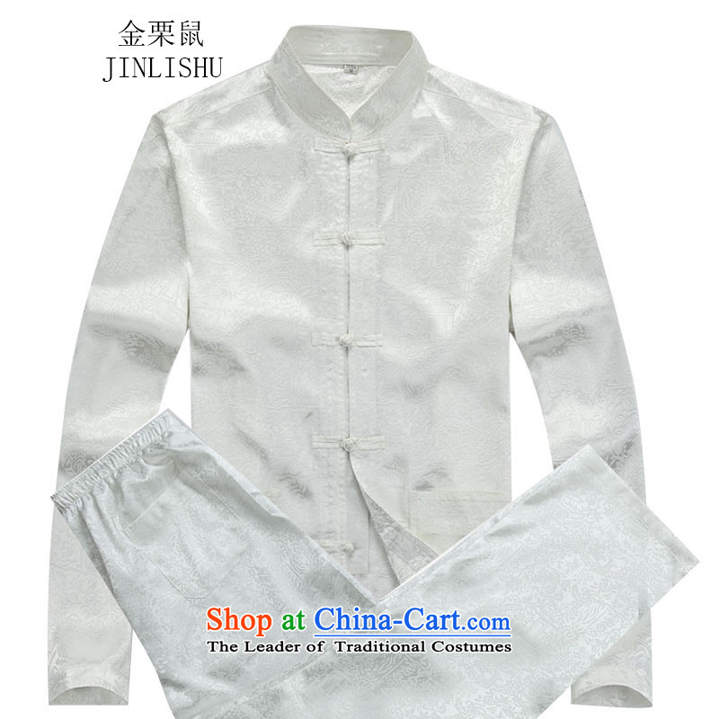 Kanaguri mouse fall of Chinese men's long-sleeved white?XXXL Kit