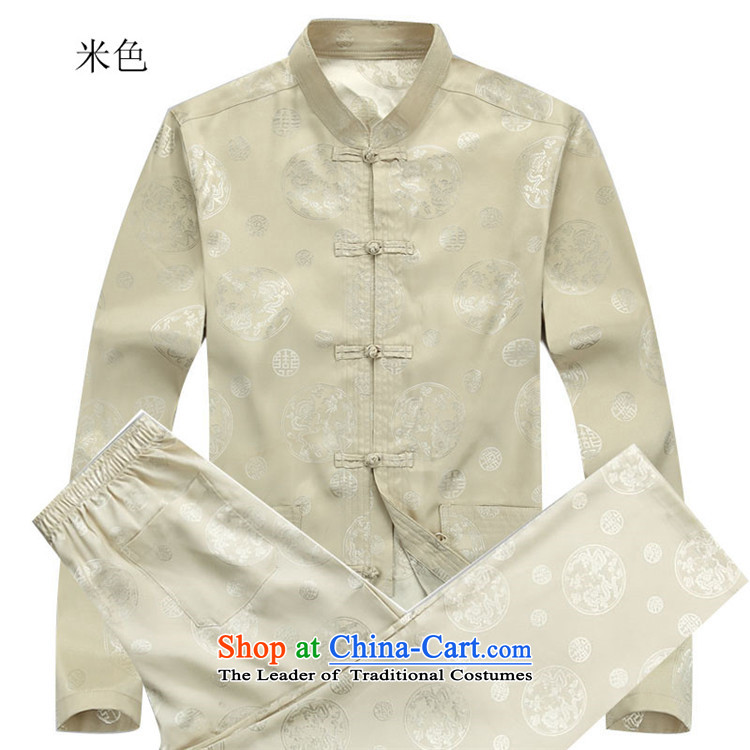 Kanaguri Mouse New Men long-sleeved Tang Dynasty Package for older autumn clothing blue packaged聽XXL picture, prices, brand platters! The elections are supplied in the national character of distribution, so action, buy now enjoy more preferential! As soon as possible.