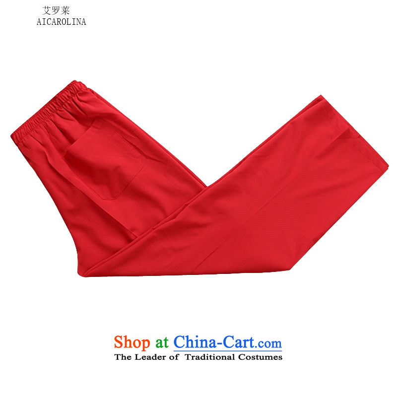 Hiv Rollet 2015 Fall/Winter Collections of new products in the Tang dynasty China wind Older long-sleeved red Suite Suite聽, L, HIV (AICAROLINA ROLLET) , , , shopping on the Internet