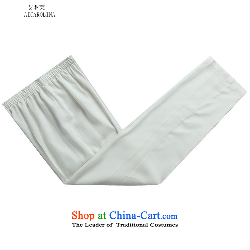 Hiv Rollet autumn and winter in older men China wind linen men long-sleeved Tang Dynasty Package White Kit聽   XL, HIV (AICAROLINA ROLLET) , , , shopping on the Internet