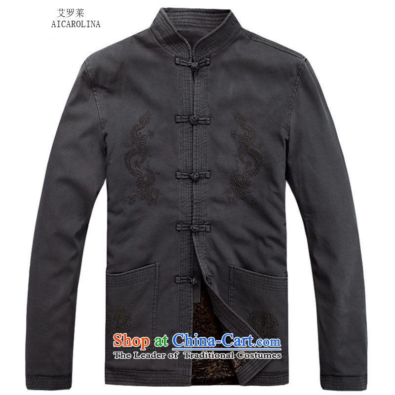 Hiv Rollet 2015 autumn and winter new thick sand washing cotton Ssangyong Tang dynasty carbon聽XL