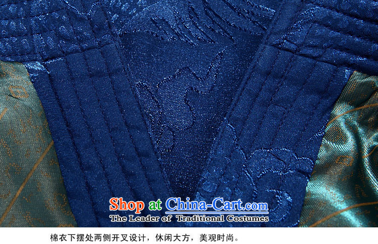 Hiv Rollet autumn and winter new products with long-sleeved kit TANG Tai Lung Tang jacket is smart casual Chinese men and Tang Dynasty Package Blue Kit聽85 pictures, prices, brand platters! The elections are supplied in the national character of distribution, so action, buy now enjoy more preferential! As soon as possible.