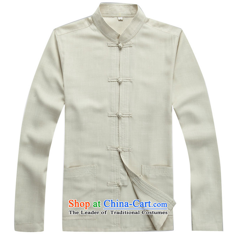 Hiv Rollet autumn and winter in older men China wind linen men long-sleeved Tang Dynasty Package White Kit聽XL Photo, prices, brand platters! The elections are supplied in the national character of distribution, so action, buy now enjoy more preferential! As soon as possible.