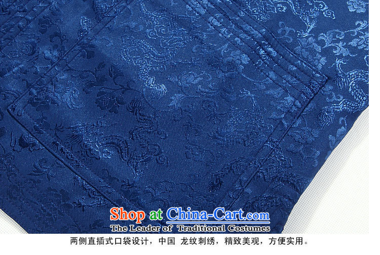 Hiv Rollet autumn in Tang Dynasty older men spend little dragons Tang Jacket Blue聽185 pictures, prices, brand platters! The elections are supplied in the national character of distribution, so action, buy now enjoy more preferential! As soon as possible.