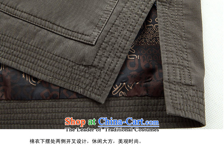Hiv Rollet 2015 autumn and winter New Man Fu Shou long-sleeved jacket in Tang elderly men sand washing cotton Ssangyong Tang Jacket Dark Blue聽M picture, prices, brand platters! The elections are supplied in the national character of distribution, so action, buy now enjoy more preferential! As soon as possible.