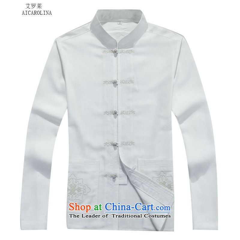 Rollet HIV from older men Tang jacket for autumn and winter round Ma long-sleeved white Kit packaged聽XXXL, HIV ROLLET (AICAROLINA) , , , shopping on the Internet