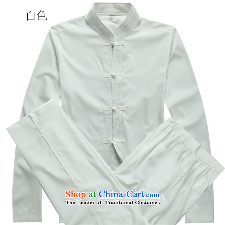 Hiv Rollet 2015 Fall/Winter Collections of new products in the Tang dynasty China wind Older long-sleeved white Kit packaged聽XXXL picture, prices, brand platters! The elections are supplied in the national character of distribution, so action, buy now enjoy more preferential! As soon as possible.