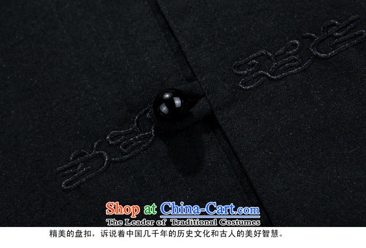 Rollet HIV from older men Tang jackets autumn and winter set long-sleeved black聽XXL picture, prices, brand platters! The elections are supplied in the national character of distribution, so action, buy now enjoy more preferential! As soon as possible.