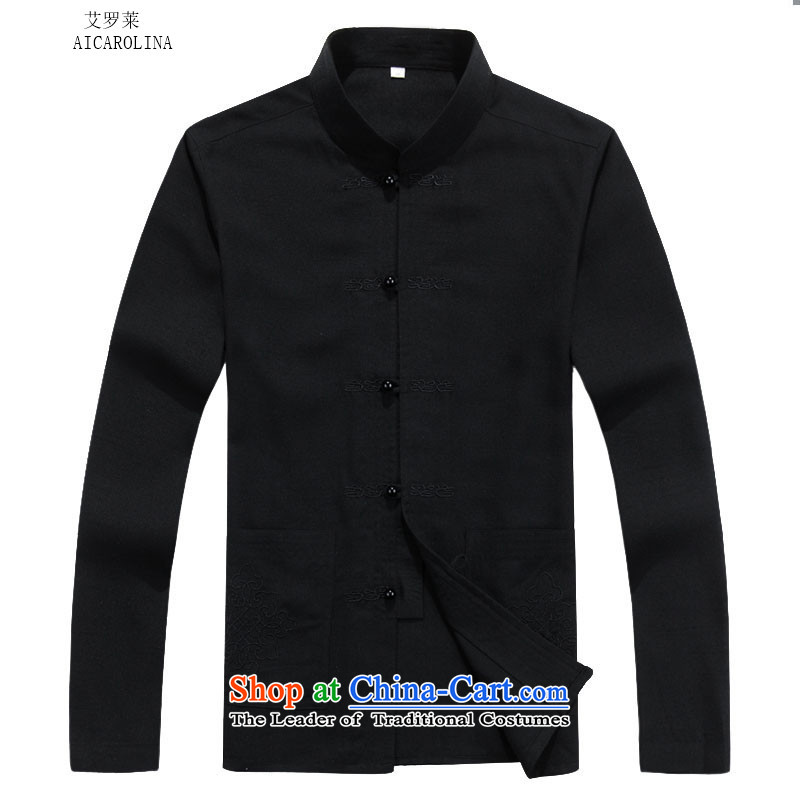 Rollet HIV from older men Tang jackets autumn and winter set long-sleeved black聽XXL, HIV ROLLET (AICAROLINA) , , , shopping on the Internet
