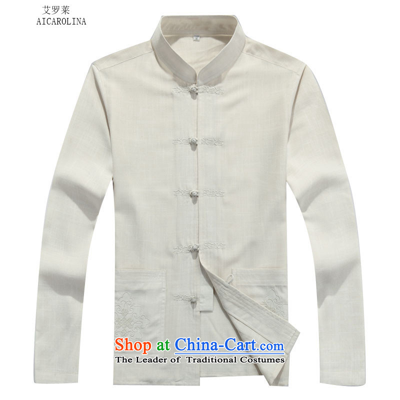 Rollet HIV from older men Tang jackets autumn and winter set long-sleeved beige Kit聽, L, HIV (AICAROLINA ROLLET) , , , shopping on the Internet
