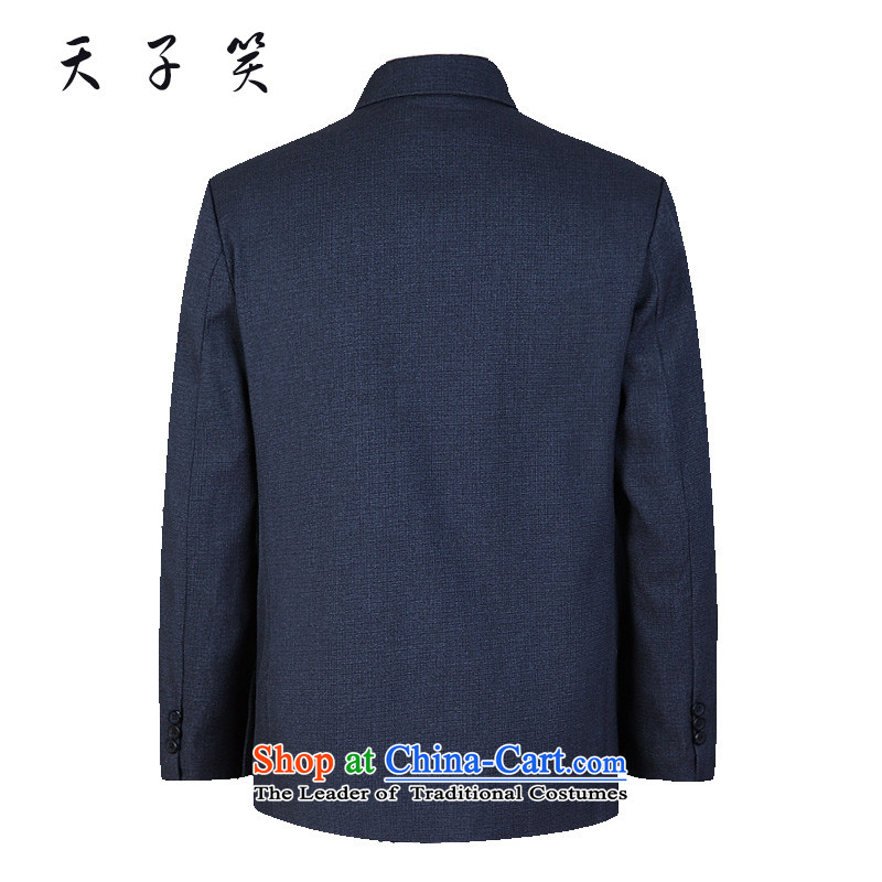 The Emperor smiled in older Chinese tunic suit male fourth quarter jacket plus extra thick uniform attire, lint-free light gray, lint-free cloth, Ma Tei 72, Emperor smiled , , , shopping on the Internet