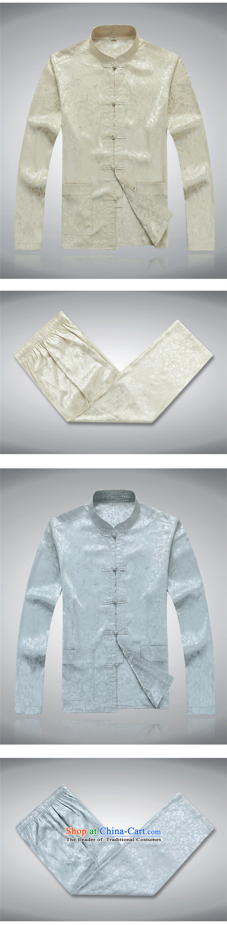 Top Luxury older Tang Dynasty Package short-sleeved men's new Tang blouses men's summer short-sleeved half sleeve men silk cotton father replacing Tang dynasty China wind kit red) packaged聽170/M picture, prices, brand platters! The elections are supplied in the national character of distribution, so action, buy now enjoy more preferential! As soon as possible.